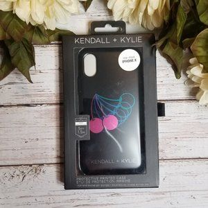 Kendall  & Kylie | IPhone X Cherry Graphic Case